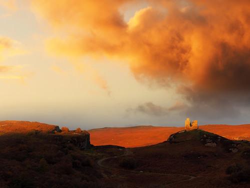 escocia escòcia scotland highlands albada amanecer sunrise castlevarrich tongue nwn