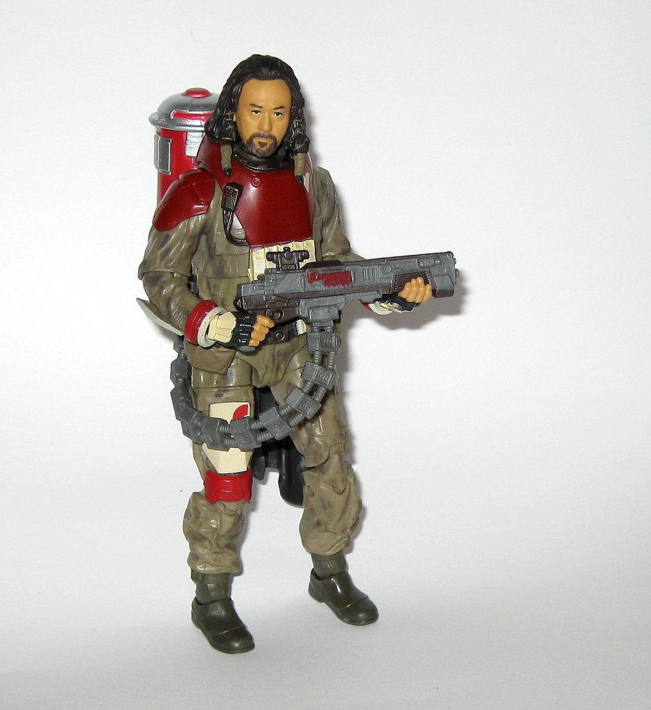 "STAR WARS ROGUE ONE BLACK SERIES 6/"" BAZE MALBUS  #37"