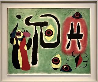 Le Soleil rouge ronge l'araignée, 1948, Joan Miró