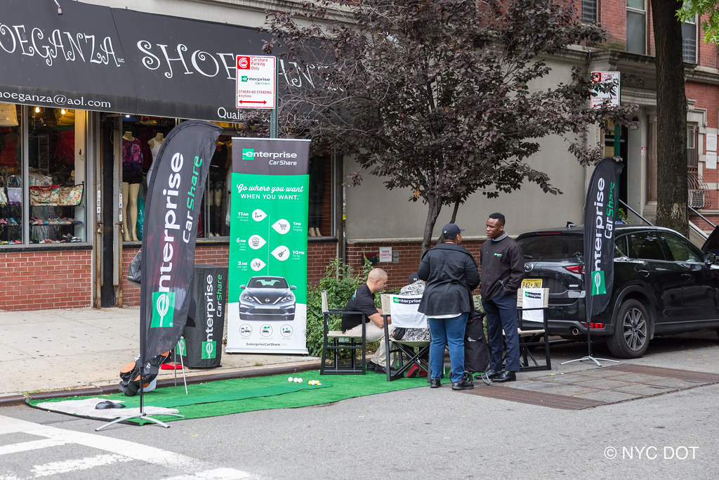 Enterprise Car Share Number >> Enterprise Carshare At Park Ing Day 2018 Nyc Photo Cred
