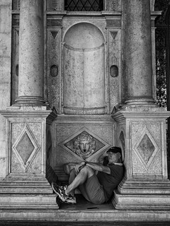 Resting man | by Riccardo Palazzani - Italy
