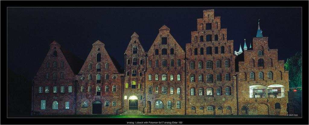analog: Lübeck with Fotoman 6x17 Ektar 100