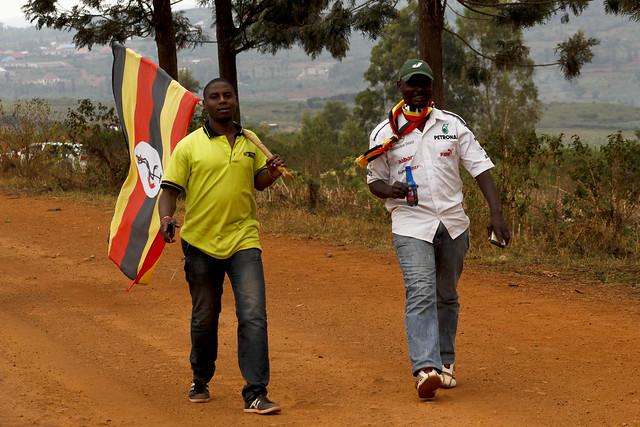 Ugandans in Rwanda Mountain Gorilla Rally