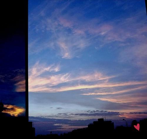 nubes colores vistadesdemiventana magdalenadelmar lima perú maríatere7 nwn