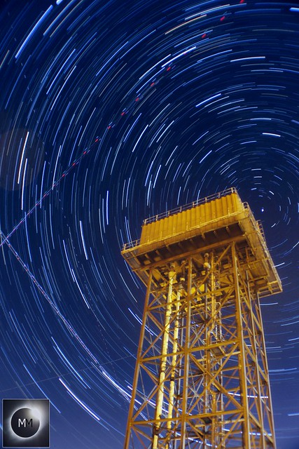 55 Minute Water Tower Star Trails 06/10/18