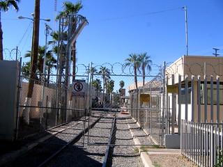Mexicali, BC railway Border Crossing at 2010