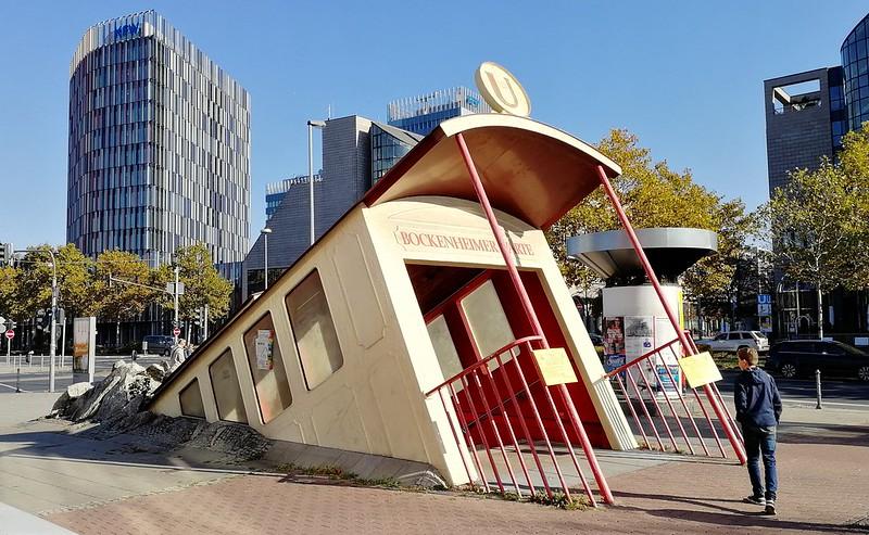 "U-Bahn-Station ""Bockenheimer Warte"", Frankfurt am Main"