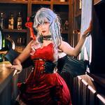 Remilia Scarlet - Barmaid