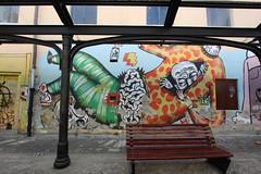 Graffiti in Bistrita