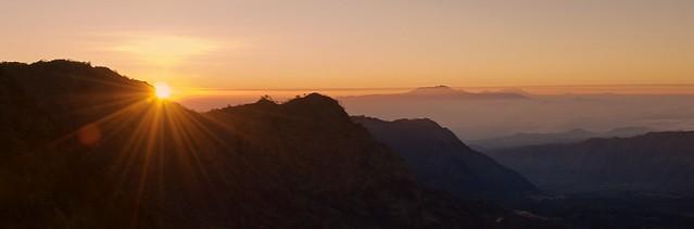 Sunrise on Mount Bromo