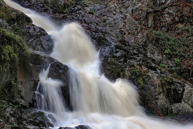 Longue pose pour cette cascade