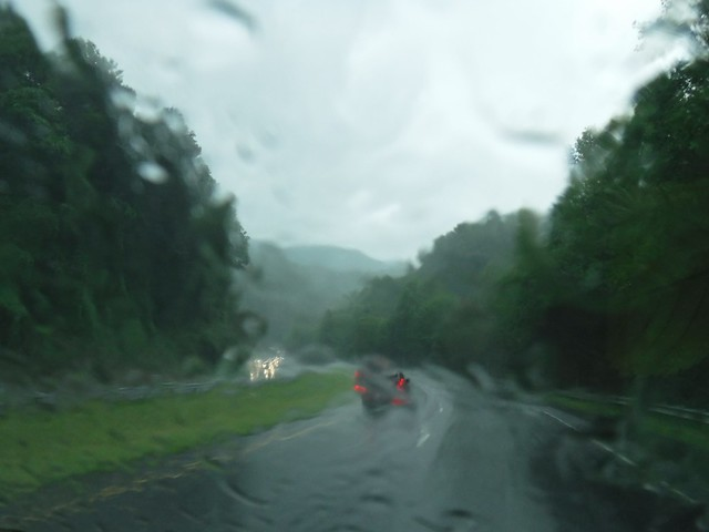 North Carolina in the Rain