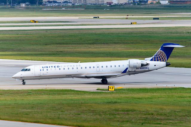 N502MJ Mesa Airlines Bombardier CRJ-701ER