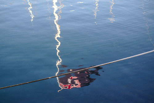 Reflected Australian flag   by aenigmatēs