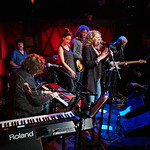 Mon, 01/10/2018 - 7:11am - Amy Helm and her band perform at Rockwood Music Hall in NYC for WFUV Public Radio, 10/1/18. Hosted by Carmel Holt. Photo by Gus Philippas/WFUV