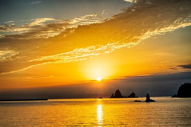 Nishi-Izu sunset scenery