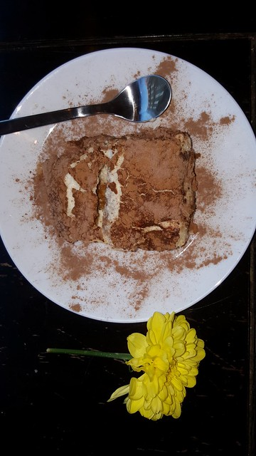 Tiramisu. Cafe Med London