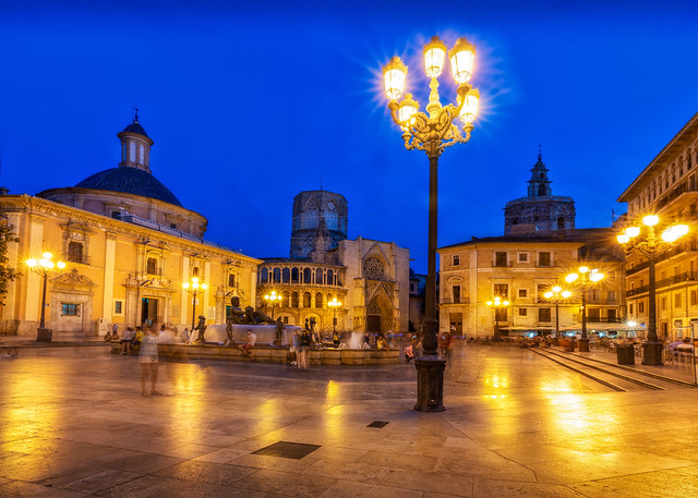 Bluehour image of  Saint Mary's Cathedral – Valencia, Spain