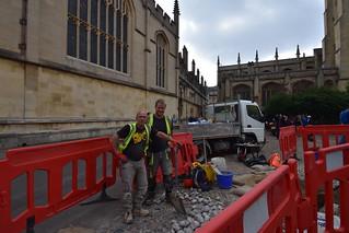 Men Who Keep Oxford Looking Good