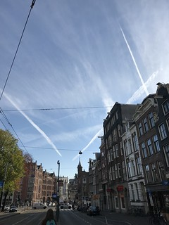Chemtrails Over Amsterdam - Holland - October 2018