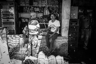 Market People in BW, Cartagena (Colombia) | by ufapix