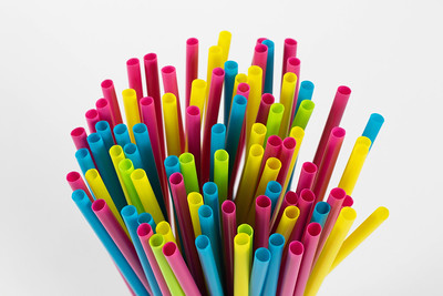 Drinking straws by wuestenigel
