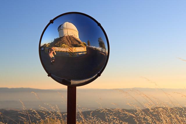 Lick Observatory Selfie