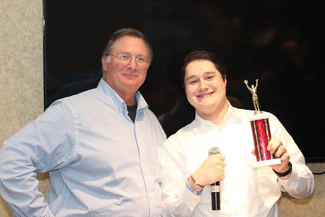 Athletic Achievement Award - Andrew Tarsa