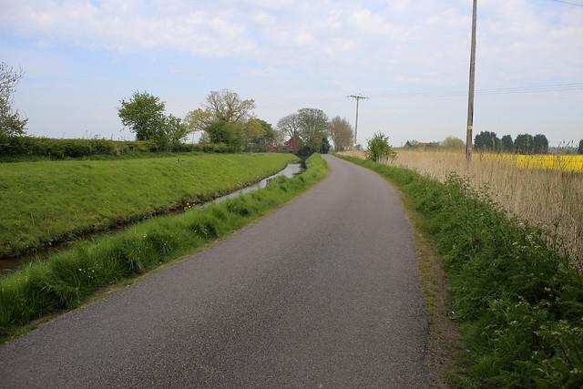 Croft Road near Winfleet All Saints