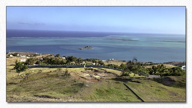 Panoramique sur l'île Poisson (2) - Rodrigues