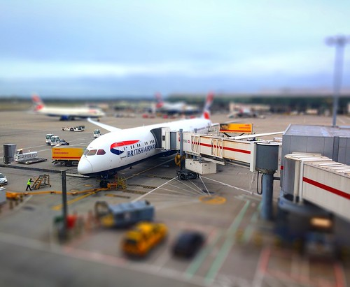 moscow airport tiltshift | by POPEOFMOPE