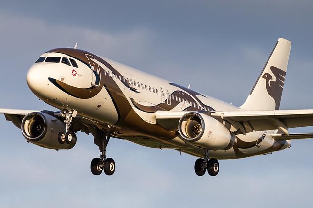 LIL - Airbus A320-232CJ (VQ-BIS) Meridian Air Company