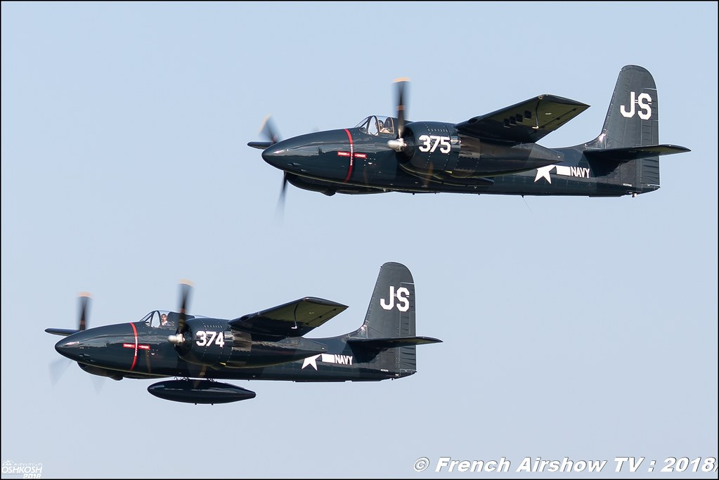 F7F Tigercat NX7629C NX379AK Review eaa oshkosh airventure airshow meeting aerien