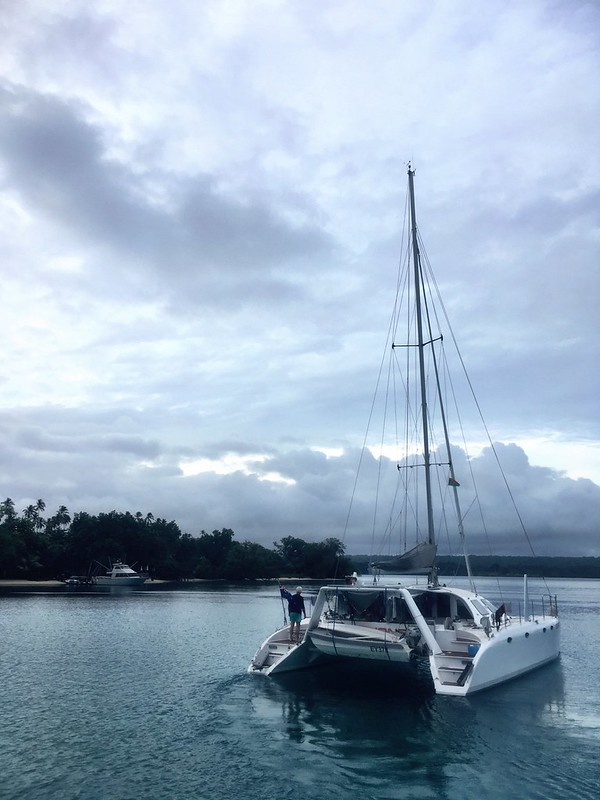 Goodbye GonYonda. Fair winds. Espiritu Santo. Vanuatu.