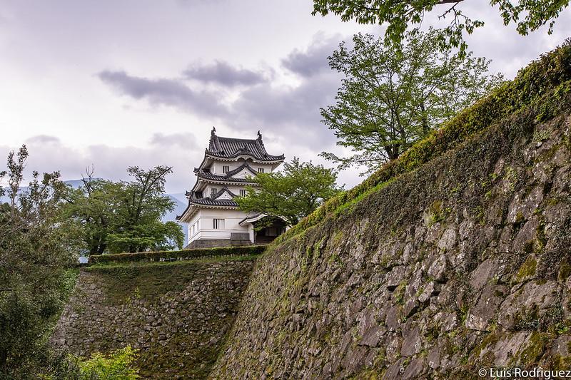 El castillo de Uwajima, uno de los castillos originales de Japón