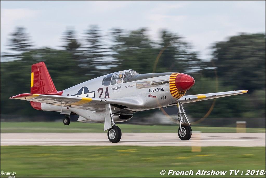 P-51C Mustang Tuskegee EAA Oshkosh 2018