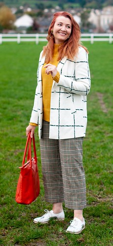 How to Mix Checks in Autumn, Over 40 Style | Not Dressed As Lamb | by Not Dressed As Lamb