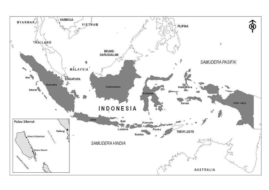 Gambar Peta Indonesia Warna Hitam Putih Via Blogger Bit Ly Flickr