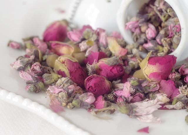 Natural Peach Flowers Organic Herb Tea