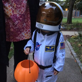 Ezra as astronaut for Halloween | by brownpau