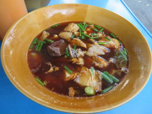バンコク市内で食べた屋台のクイチャップ