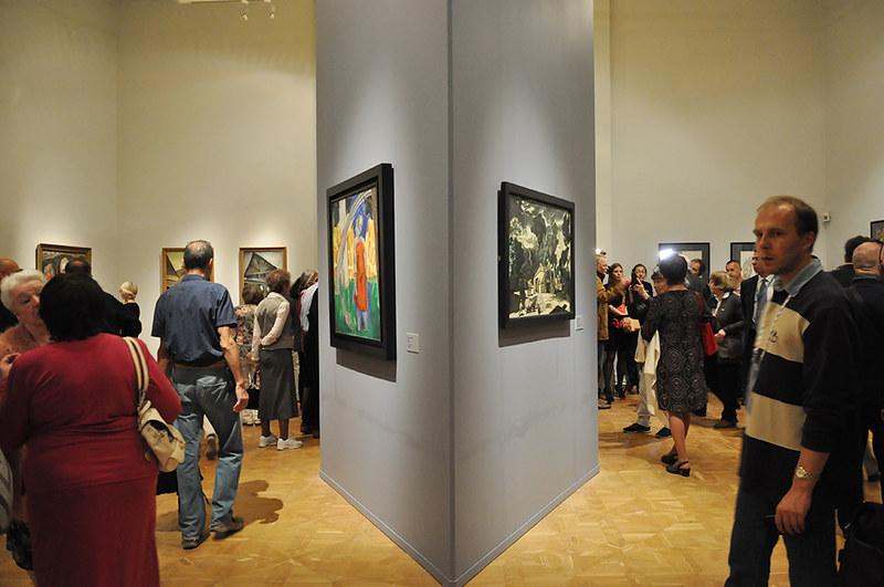 «Экспрессионизм в русском искусстве» - выставка в корпусе Бенуа Русского музея. Репортаж об открытии 20 сентября 2018 года.