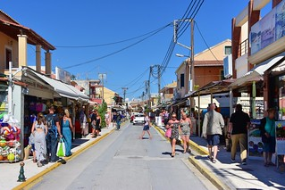 Sidari Main Street, Corfu | by In Memoriam: Charles Dawson