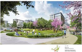 HQ2 Neighborhood Park Rendering | by derekshooster