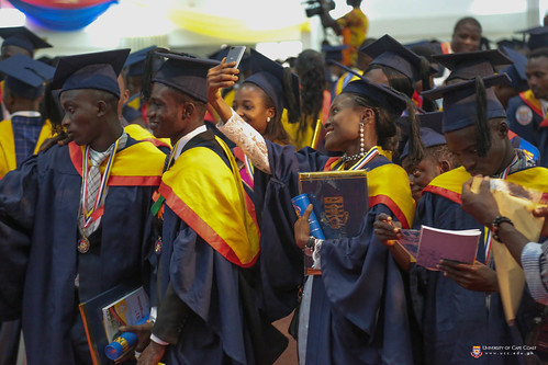 A cross section of graduands after the congregation