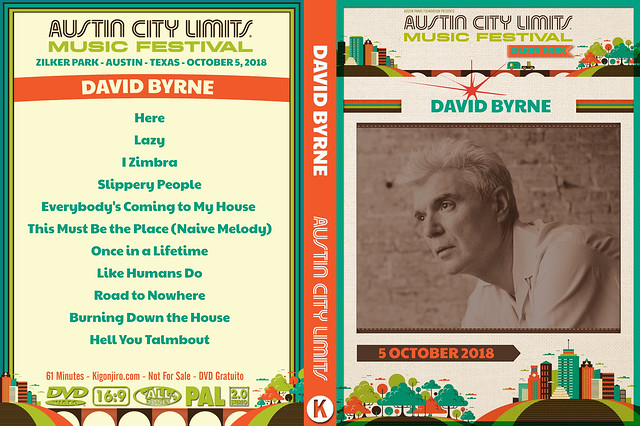 David Byrne - ACL Festival 2018