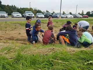 Mitchell Elementary Rain Garden Planting