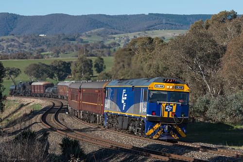 gl112 glclass ge diesel goninan heritagetrain thnsw transportheritagensw passengertrain 6l70 brewongle