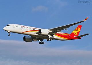 F-WZFD Airbus A350 Hong Kong Airlines | by @Eurospot