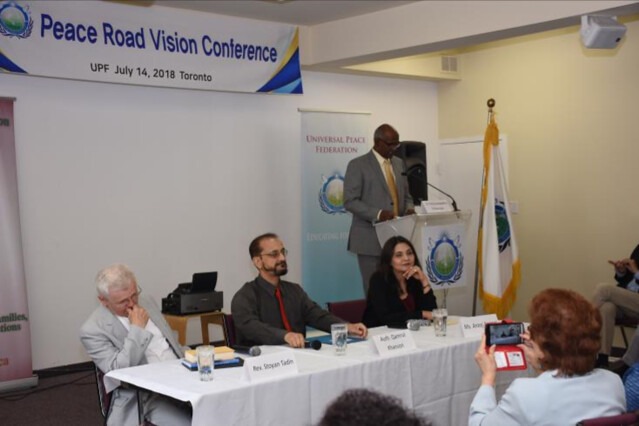 Canada-2018-07-14-'Peace Road Vision Conference' in Canada